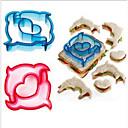 tanie Akcesoria do pieczenia-Narzędzia do pieczenia Tworzywa sztuczne Narzędzie do pieczenia / Kreatywne Kanapka Przybory do ciast 5szt