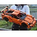 preiswerte Building Blocks-G-T18 Bausteine 421 pcs Auto Fokus Spielzeug / Exquisit Boutique Rennauto Geschenk
