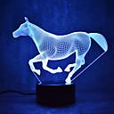 رخيصةأون لمبات LED-1SET ليلة 3D تغيير USB استشعار تعمل باللمس مع منفذ أوسب لون التغير