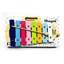 זול כלי צעצוע-צעצוע חינוכי צלילים מוזיקה פרקט כלים מוסיקליים Geometric Shape עץ