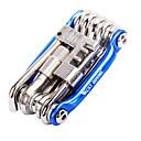 olcso Multiméterek-Javító szerszámok és készletek Hordozható, csavarhúzó Kerékpározás / Kerékpár / Mountain bike Aluminum Alloy Sárga / Piros / Kék - 1 pcs