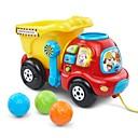 זול נורות לד Bi-pin-משאית משאית אשפה משאיות צעצוע ובניית כלי רכב מכוניות צעצוע מעטפת פלסטיק 4 pcs בגדי ריקוד ילדים תינוק בנים בנות צעצועים מתנות