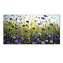 tanie Obrazy olejne-styledecor® nowoczesne ręcznie malowane abstrakcyjne fioletowy kwiat morze płótno obraz olejny wall art dla domu i na płótnie zawinięte