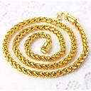 preiswerte Armbänder-Herrn Ketten - vergoldet Rockig Gold Modische Halsketten Für Strasse, Klub