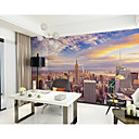 cheap Rolled Canvas Prints-Art Deco Pattern 3D Home Decoration Classic Modern Wall Covering, Canvas Material Adhesive required Mural, Room Wallcovering