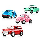 cheap Toy Trucks & Construction Vehicles-Sound light Collection Brinquedos Car Vehicle Toys Toy Car Classic Car Music Vehicles Car Exquisite Metal Alloy Kid's Gift 1pcs