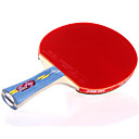 זול שולחן טניס-DHS® E402 Ping Pang/מחבטי טניס שולחן עץ גוּמִי 4 כוכבים ידית ארוכה פצעונים
