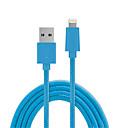 tanie Kable i Ładowarka-Oświetlenie Adapter kabla USB Wysoka prędkość / Szybka opłata Kable Na iPhone 150 cm Na PVC