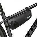abordables Bolsas para Cuadro de Bici-ROSWHEEL 1.1 L Bolsa para Cuadro de Bici Bolsa de marco triangular Resistente a la lluvia A prueba de resbalones Bolsa para Bicicleta Nailon Bolsa para Bicicleta Bolsa de Ciclismo Ciclismo / Bicicleta