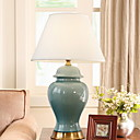 cheap Table Lamps-Traditional / Classic Decorative Table Lamp For Ceramic 220-240V Blue Yellow