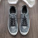 tanie Męskie obuwie sportowe-Męskie Materiał Lato Comfort Tenisówki Black / Gray