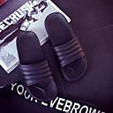 tanie Pantofle-Kapcie damskie Pantofle Zwyczajny Skóra PVC Jeden kolor