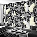 halpa Seinätarrat-3d art ontto ja valkoinen perhonen suuri seinämaalaus seinämaalaus tapetti sovi makuuhuone ravintola art