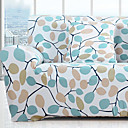 tanie Pokrowce na sofy i fotele-Współczesny Rustykalny 100% Polyester Jacquard Loveseat Zaznaczony, Prosty Rośliny Drukowane slipcovers