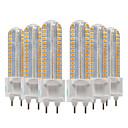 זול נורות לד Bi-pin-YWXLIGHT® 6pcs 8W 700-800lm G12 נורות שני פינים לד 128 LED חרוזים SMD 2835 לבן חם לבן קר לבן טבעי 220-240V