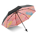 tanie Sztuczny kwiat-Tkanina Wszystko Słoneczne i deszczowe / Ochrona przed wiatrem / Nowe Parasolka Składana