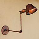 billige Flush Mount-lamper-Anti-refleksjon / Mini Stil Retro / vintage / Land Swing Arm Lights Stue / butikker / cafeer Metall Vegglampe 110-120V / 220-240V 40W