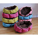 cheap Dog Beds & Blankets-Cats Dog Bed Pet Mats & Pads Spots & Checks Portable Foldable Breathable Random Color For Pets