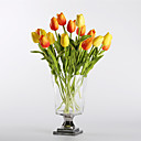 cheap Artificial Flower-Artificial Flowers 10 Branch Modern / European Style Tulips Tabletop Flower