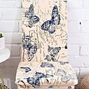 זול כיסויים-עכשווי 100% פוליאסטר ג'אקארד כיסוי לכיסא, פשוט פרחוני הדפס חיות הדפס כיסויים