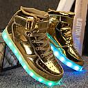 ieftine Pantofi Băieți-Băieți Pantofi PU Toamnă / Toamna iarna Confortabili / Pantofi Usori Adidași Dantelă / Cârlig & Buclă / LED pentru Copii Argintiu / Albastru / Roz