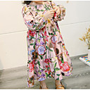 cheap Bakeware-Toddler Girls' Active Floral Long Sleeve Dress / Cotton / Cute