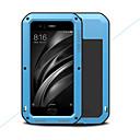 זול מגנים לטלפון & מגני מסך-מגן עבור Xiaomi Mi 6 מוגן מים / עפר / הלם כיסוי מלא צבע אחיד קשיח מתכת ל Xiaomi Mi 6
