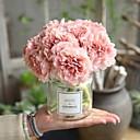 זול פרח מלאכותי-פרחים מלאכותיים 5 ענף חתונה / פרחי חתונה אדמוניות פרחים לשולחן