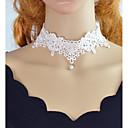 povoljno Modne ogrlice-Choker oglice - Čipka Obala, Crn 42 cm Ogrlice Jewelry Za Zabava / večer, Škola