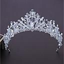 cheap Party Headpieces-Alloy Tiaras with Rhinestone 1pc Wedding / Birthday Headpiece
