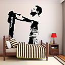 cheap 3D Puzzles-Decorative Wall Stickers - Words & Quotes Wall Stickers People Wall Stickers Famous Football Living Room Kids Room