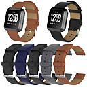 tanie Inteligentny zegarek Akcesoria-Watch Band na Fitbit Versa Fitbit Klasyczna klamra Skóra naturalna Opaska na nadgarstek