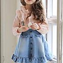 preiswerte Röcke für Mädchen-Mädchen Gerüscht Schultaschen / Ausgehen Solide Baumwolle Rock