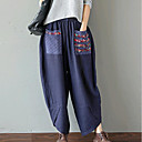 cheap Wedding Wraps-Women's Basic Chinoiserie Chinos Pants - Solid Colored