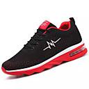 זול סניקרס לגברים-בגדי ריקוד גברים גומי קיץ נוחות נעלי אתלטיקה קולור בלוק שחור / שחור אדום / כתום ושחור
