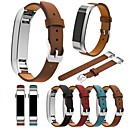 cheap Smartwatch Bands-Watch Band for Fitbit Alta Fitbit Classic Buckle Genuine Leather Wrist Strap