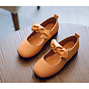 ieftine Pantofi Fetițe-Fete Pantofi PU Primăvară / Toamnă Confortabili / Pantofi Fata cu Flori Pantofi Flați pentru Negru / Maro / Verde