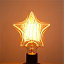 baratos Novidades em Iluminação-1pç 40 W E26 / E27 Estrela Branco Quente 2200-2700 k Retro / Decorativa Incandescente Vintage Edison Light Bulb 220-240 V