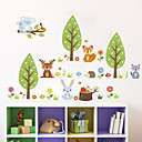 cheap Wall Stickers-Wall Decal Decorative Wall Stickers - Plane Wall Stickers Landscape Animals Re-Positionable Removable