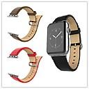 povoljno Naušnice-Pogledajte Band za Apple Watch Series 5/4/3/2/1 Apple Klasična kopča Prava koža Traka za ruku
