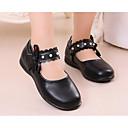preiswerte Badarmaturen-Mädchen Schuhe PU Frühling / Herbst Komfort / Tiny Heels für Teens High Heels für Weiß / Schwarz / Rosa