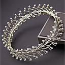 tanie Imprezowe nakrycia głowy-Stop Tiary z Kryształ górski / Sztuczna perła 1 szt. Ślub / Urodziny Winieta