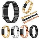 رخيصةأون الاكسسوارات ساعة ذكية-حزام إلى Fitbit Charge 2 فيتبيت عصابة الرياضة ستانلس ستيل شريط المعصم