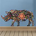 billige LED Brusehoveder-Dekorative Mur Klistermærker - 3D mur klistermærker Animal Wall Stickers Dyr Stue Soveværelse Badeværelse Køkken Spisestue Læseværelse /