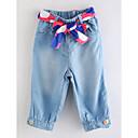 tanie Spodnie i getry-Dzieci Dla dziewczynek Podstawowy Solidne kolory Spodnie