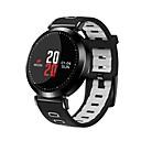 baratos Smartwatches-Relógio inteligente para iOS / Android Monitor de Batimento Cardíaco / Calorias Queimadas / Tora de Exercicio / Lembrete de Mensagem / Controle de Câmera Podômetro / Aviso de Chamada / Monitor de