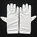 cheap Party Gloves-Spandex Wrist Length Glove Bridal Gloves / Party / Evening Gloves With Faux Pearl