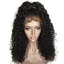 ieftine Peruci Păr Uman-Păr Virgin Integral din Dantelă Perucă Păr Brazilian Buclat Perucă Frizură în Straturi 130% Cu părul copiilor / pentru Femei de Culoare Negru Pentru femei Scurt / Lung / Lungime medie Peruci Păr Uman