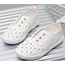 baratos Sapatos de Menina-Para Meninas Sapatos Courino Primavera / Verão Conforto Tênis para Branco / Prata / Rosa claro