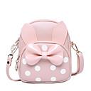 olcso Preschool Backpacks-Táskák PU Kids 'táskák Csokor Karakter Arcpír rózsaszín / Tejesfehér / Fukszia